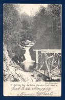 Sart-lez-Spa (Jalhay). La Hoegne. Cascade Et Pont Léopold II. 1904 - Jalhay