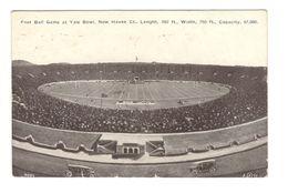 24 YALE BOWL - FOOTBALL GAME - STADIUM - NEW HAVEN - STADIO - ESTADIO - STADION - STADE - New Haven