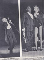 (pagine-pages)MARLENE DIETRICH(+LOUIS ARMSTRONG)     Settimogiorno1962/10. - Autres