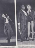 (pagine-pages)MARLENE DIETRICH(+LOUIS ARMSTRONG)     Settimogiorno1962/10. - Libri, Riviste, Fumetti