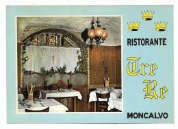 MONCALVO - RISTORANTE TRE RE - NV FG - Asti