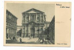 MILANO D'ALTRI TEMPI - CHIESA DI S.FEDELE - VIAGGIATA FG - Milano (Milan)
