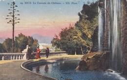 CPA Nice, La  Cascade Du Château (pk49897) - Monumenten, Gebouwen