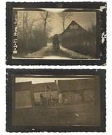 2 X Postais Fotograficos OFICIAL PORTUGUES Em França CEP. SET Of 2 Old Real Photo Postcard WWI WAR Ham / France - Guerre 1914-18