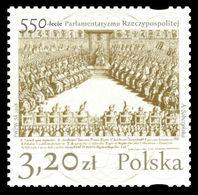 Poland 2018 Mih. 4999 Polish Parliamentarism MNH ** - 1944-.... Republic