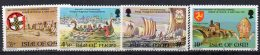 IOM 1974 Historical Anniversaries 4 Values AS SCAN MNH - Isle Of Man