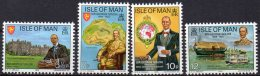 IOM 1975 George Goldie 4 Values AS SCAN MNH - Man (Ile De)