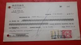 Argentina Documento Con Sello Fiscal Cordoba - Oficiales