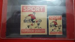 Un Football Des Vignettes Anciennes Sport Superior Quality - Football