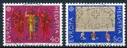670-671 / 1221-1222 Mit Vollstempel ZÜRICH 22 WERTZEICHEN 07.05.1982 - Schweiz
