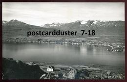 1652 - ICELAND Akureyri 1940s Panorama. Real Photo Postcard - Iceland