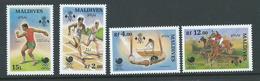 Maldives 1988 Seoul Olympic Games Set 4 MNH - Maldives (1965-...)