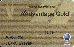 American Airlines AAdvantage Gold Card  With GC 05/06 On Back Expires 02/08 - Other