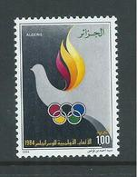 Algeria 1984 Los Angeles Olympic Games Single MNH - Algeria (1962-...)