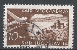 Yugoslavia 1951. Scott #C38 (U) Ohrid * - Poste Aérienne