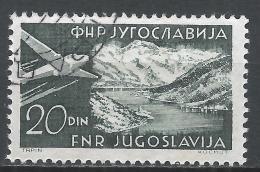 Yugoslavia 1951. Scott #C39 (U) Gulf Of Kotor * - Poste Aérienne