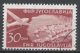 Yugoslavia 1951. Scott #C40 (U) Dubrovnik * - Poste Aérienne