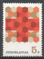 Yugoslavia 1968. Scott #RA33 (MNH) Honeycomb And Red Cross * - Bienfaisance