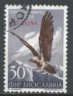 Yugoslavia (Trieste) 1954. Scott #99 (U) Lammergeier, Eagle, Overprinted STT VUJNA * - 1945-1992 République Fédérative Populaire De Yougoslavie