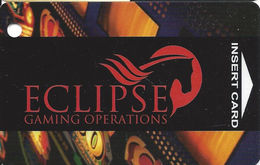 Eclipse Gaming Operations Slot Card Used At Bentley's And Some Jackpot Joanie's Locations In Las Vegas NV - Casino Cards