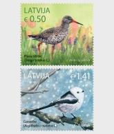 H01 Latvia 2018 Birds MNH Postfrisch - Lettland