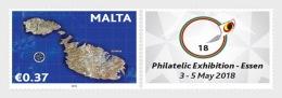 H01 Malta 2018 Personalised Stamp MNH Postfrisch - Malta (Orden Von)