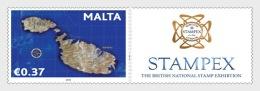 H01 Malta 2018 Stampex Stamp Fair MNH Postfrisch - Malta (Orden Von)