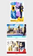 H01 Malta 2018 Valletta Capital Of Culture MNH Postfrisch - Malta (Orden Von)
