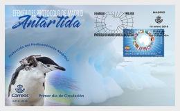 H01 Spain 2018 Ephemerides Antarctica MNH Postfrisch - 1931-Heute: 2. Rep. - ... Juan Carlos I