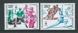 Gabon 1984 Sarajevo Winter Olympic Games Airmail Set Of 2 MNH - Gabon