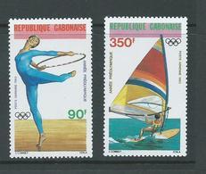 Gabon 1983 Pre Olympic Games Airmail Set Of 2 MNH - Gabon