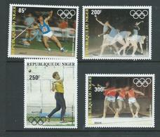 Niger 1983 Pre Olympic Games Airmail Set Of 4 MNH - Niger (1960-...)