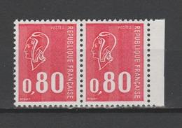 FRANCE / 1974 / Y&T N° 1816 ** : Béquet 80c Gravé (3 Bandes PHO) X 2 En Paire - Gomme D'origine Intacte - Frankreich