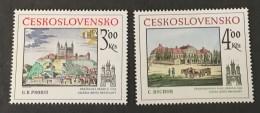 Czechoslovakia   - MH* -  1981 - #  2622/2623 - Unused Stamps