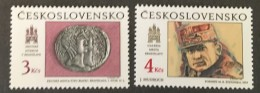 Czechoslovakia   - MNH** -  1990 - #  2800/2801 - Unused Stamps