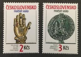 Czechoslovakia   - MNH** -  1990 - #  2792/2793 - Unused Stamps