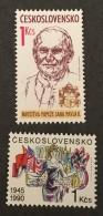 Czechoslovakia   - MNH** -  1990 - #  2787/2788 - Unused Stamps