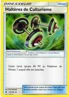 Carte Pokemon 113/147 Halteres De Culturisme 2017 - Pokemón