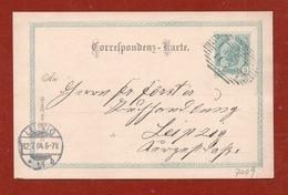 CARTOLINA POSTALE AUSTRIA  5 K  DA IMST TIROL  A LEIPZIG LIPSIA IN DATA  11/7/1904 - Repubblica Ceca