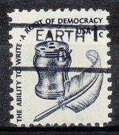 USA Precancel Vorausentwertung Preo, Locals Texas, Earth 835.5 - Vereinigte Staaten