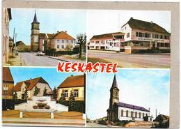 KESKASTEL - 67 - MULTI-VUES  - 4 Vues De La Ville - BARA1/SAL - - France