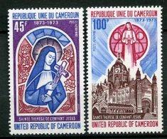 7958  CAMEROUN  PA 210/ 1 ** Centenaire De La Naissance De Sainte Thérèse De L'Enfant Jésus              1973    TTB - Camerun (1960-...)