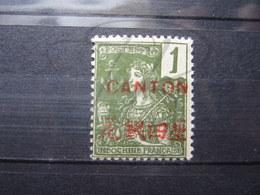 VEND BEAU TIMBRE DE CANTON N° 33 , X !!! - Canton (1901-1922)