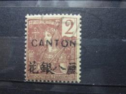 VEND BEAU TIMBRE DE CANTON N° 34 , X !!! - Canton (1901-1922)