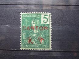 VEND BEAU TIMBRE DE CANTON N° 36 , X !!! - Canton (1901-1922)