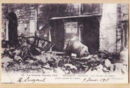 Be359 TERMONDE Dendermonde GUERRE 1914 Cloches Beffroi Gisant Parmi Ruines Du Poilu LAUZERAL à FERRIER Rabastens-cpaWW1 - Dendermonde