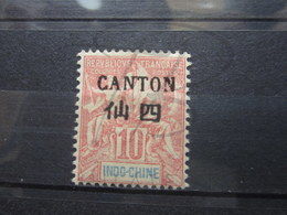VEND BEAU TIMBRE DE CANTON N° 21 , X !!! - Canton (1901-1922)