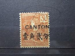VEND BEAU TIMBRE DE CANTON N° 41 , X !!! - Canton (1901-1922)
