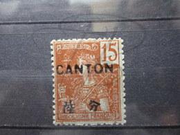 VEND BEAU TIMBRE DE CANTON N° 38 , (X) !!! - Canton (1901-1922)