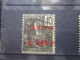 VEND BEAU TIMBRE DE CANTON N° 43 , (X) !!! - Canton (1901-1922)